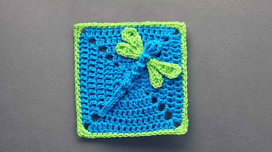 New This 3d Dazzling Dragonfly Granny Square is Simply Adorable Dragonfly Crochet Blanket Of New 41 Ideas Dragonfly Crochet Blanket