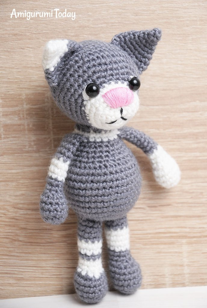 New toby the Cat Amigurumi Pattern Printable Pdf – Amigurumi Printable Crochet Patterns Of New 42 Pictures Printable Crochet Patterns