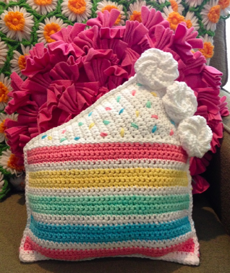 New top 10 Free Patterns for Gorgeous Crocheted Pillows Crochet Throw Pillow Of Contemporary 41 Pics Crochet Throw Pillow