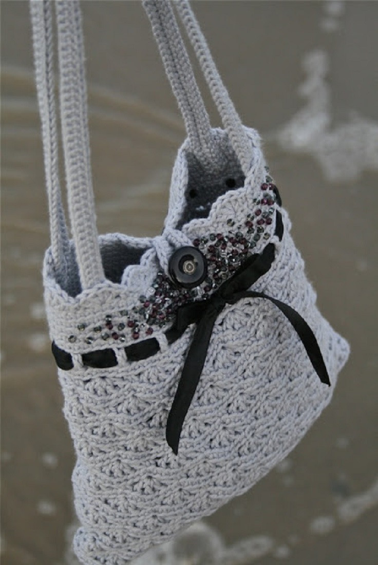 New top 10 Gorgeous Crochet Patterns for Handbags top Inspired Crochet Handbags Patterns Of Great 40 Pics Crochet Handbags Patterns