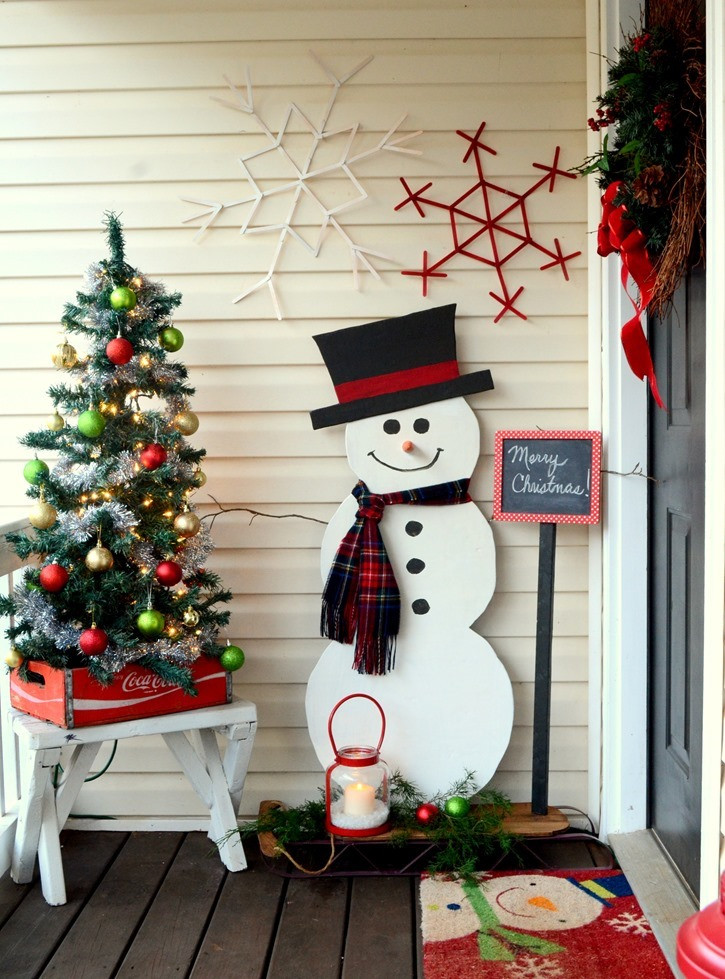 New top 40 Christmas Entryway Decoration Ideas Christmas Christmas Snowman Decorations Of Adorable 41 Models Christmas Snowman Decorations