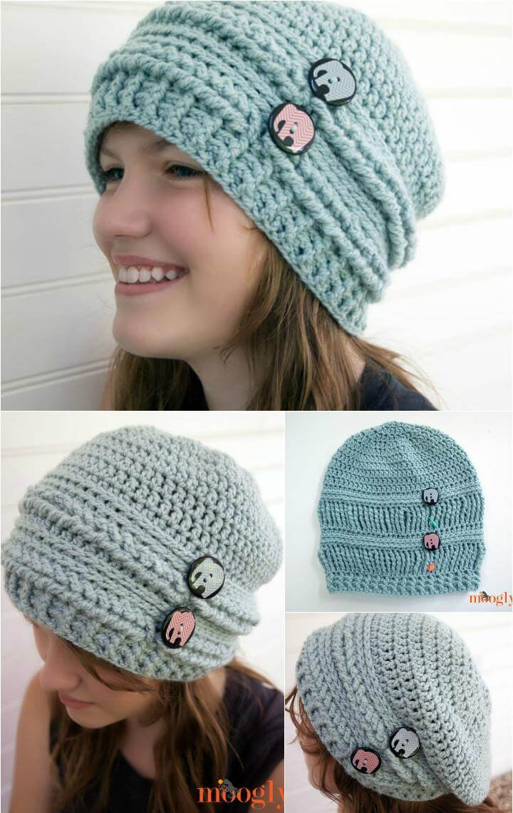 New totoro Crochet Hat Pattern for Kids Free Crochet Slouchy Hat Patterns Of Amazing 50 Pictures Free Crochet Slouchy Hat Patterns