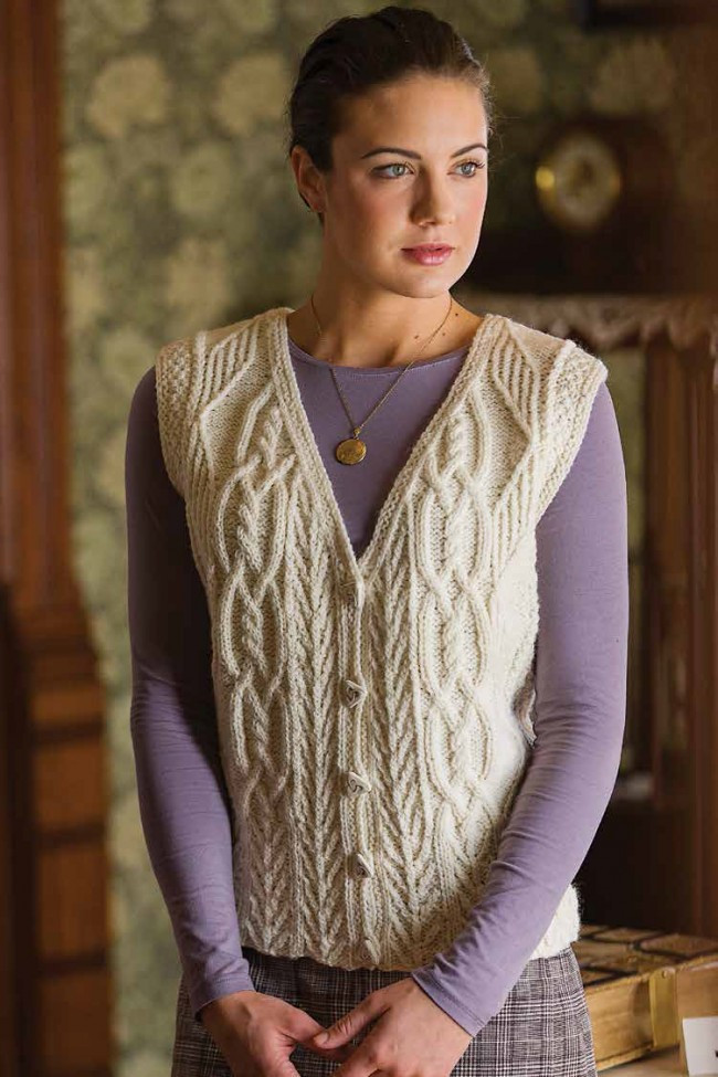 New Tree Of Life Aran Vest Knitting Pattern Download Knitted Vest Of Great 48 Pics Knitted Vest