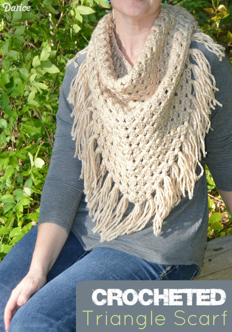 New Triangle Scarf Pattern for Crocheting Darice Crochet Triangles Of Charming 42 Images Crochet Triangles