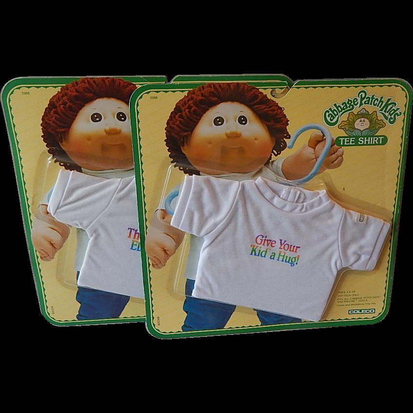 New Two Cabbage Patch Kids Tee Shirts From Cabbage Patch Kids for Sale Of Marvelous 47 Pics Cabbage Patch Kids for Sale