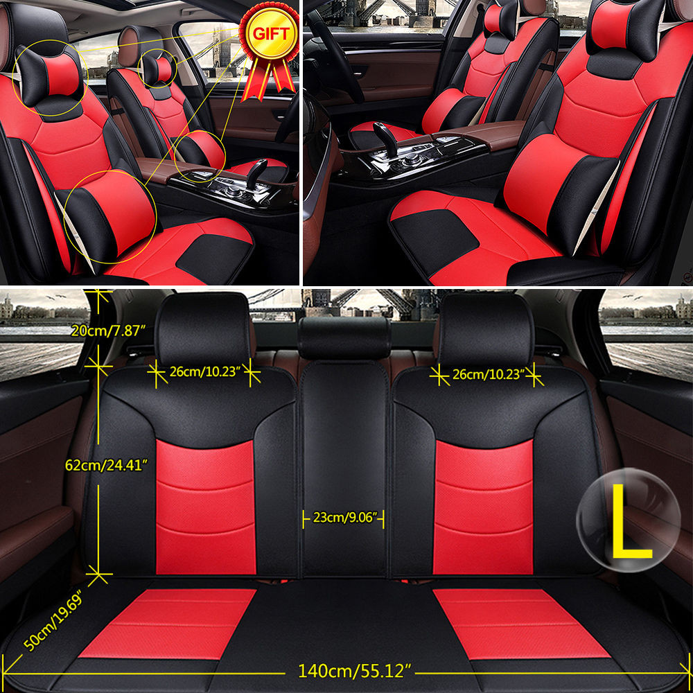 New Us Car Seat Cover Front Rear Cushion Microfiber Leather 5 Car Seat Blanket Size Of New 48 Photos Car Seat Blanket Size