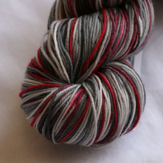 New Variegated sock Yarn London by Destinationyarn On Etsy Red and Black Variegated Yarn Of Great 49 Pictures Red and Black Variegated Yarn
