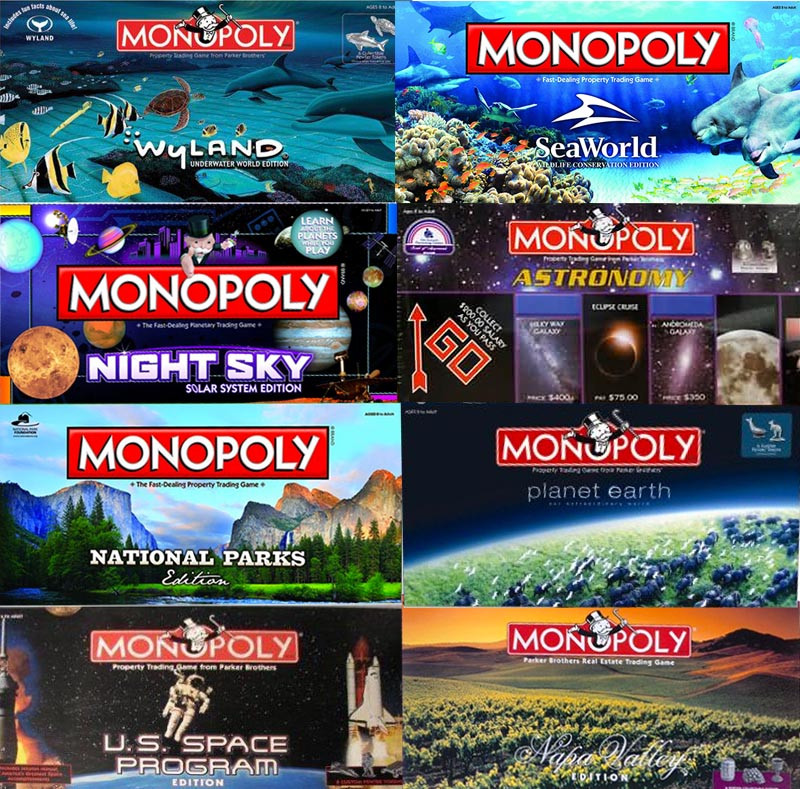 New Versions Of Monopoly You Won T Believe Exist Part Ii Monopoly Game Versions Of Gorgeous 40 Photos Monopoly Game Versions