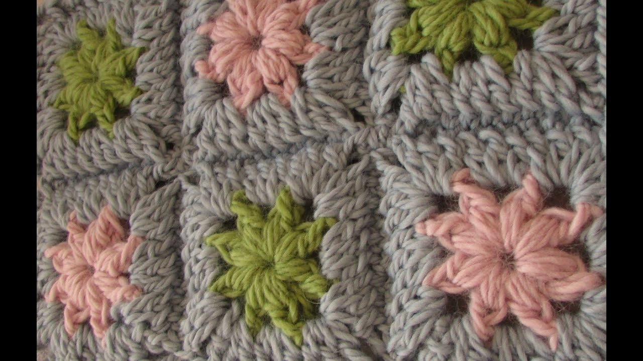 New Very Easy Crochet Chunky Granny Square Chunky Baby Bl Easy Granny Square Blanket Pattern Of Contemporary 40 Models Easy Granny Square Blanket Pattern