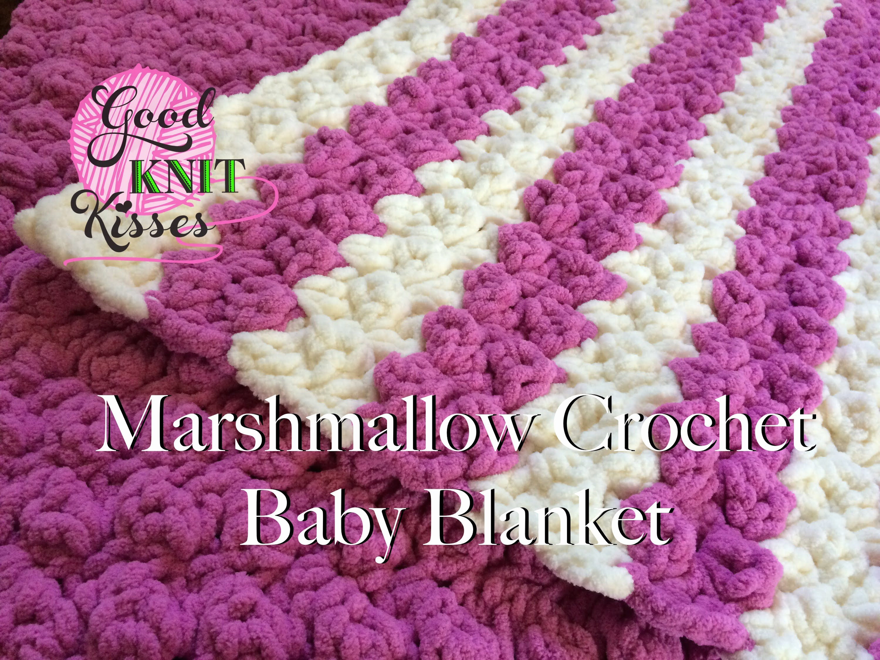 New [video Tutorial] Striped Marshmallow Crochet Baby Blanket Crochet Baby Blanket Video Of Marvelous 40 Pics Crochet Baby Blanket Video