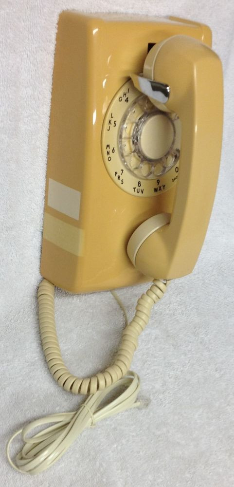 New Vintage 1970s Western Electric Gold Cream Bm554 Rotary Vintage Rotary Wall Phone Of Wonderful 46 Pictures Vintage Rotary Wall Phone