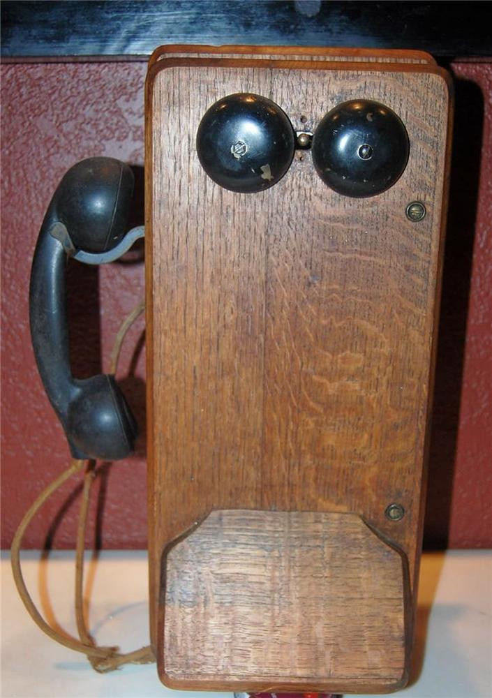 New Vintage Antique Tiger Oak Kellogg Wall Mount Hand Crank Antique Crank Phone Of Top 49 Pictures Antique Crank Phone