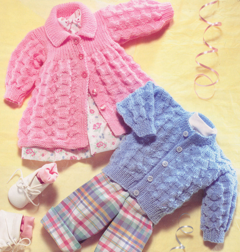New Vintage Baby Matinee Coat & Cardigan Dk Knitting Pattern Baby Patterns Of New 50 Ideas Baby Patterns