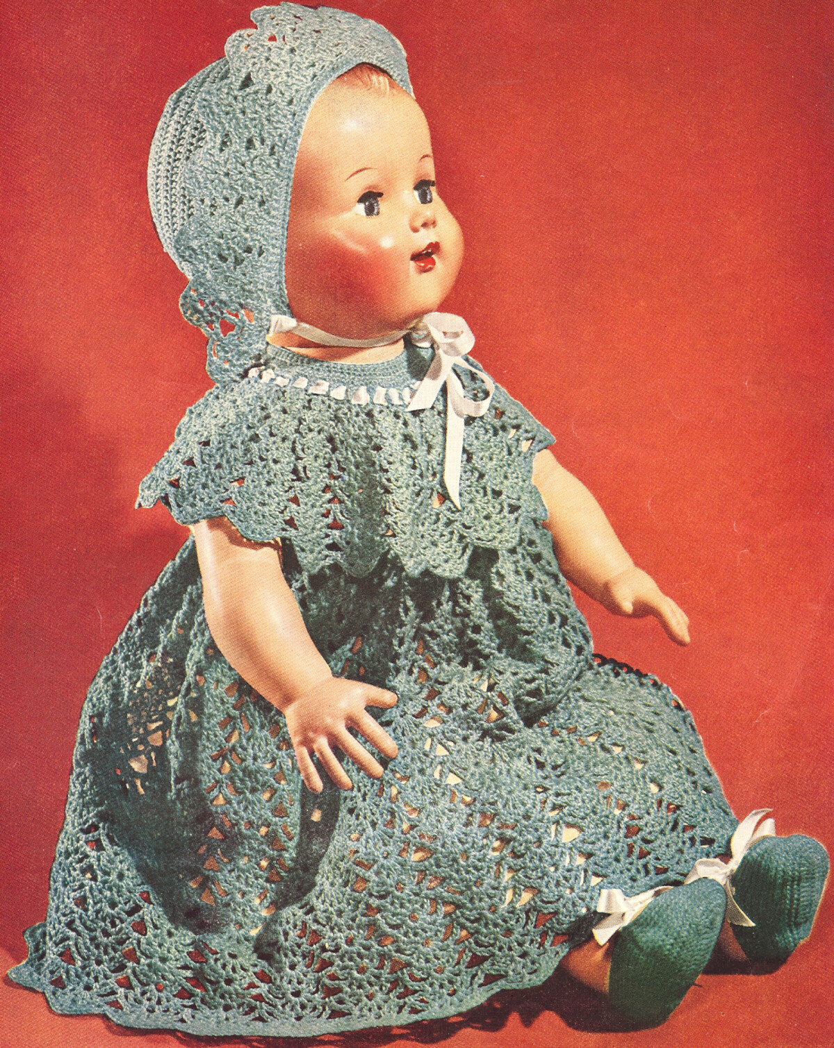 vintage crochet doll patterns
