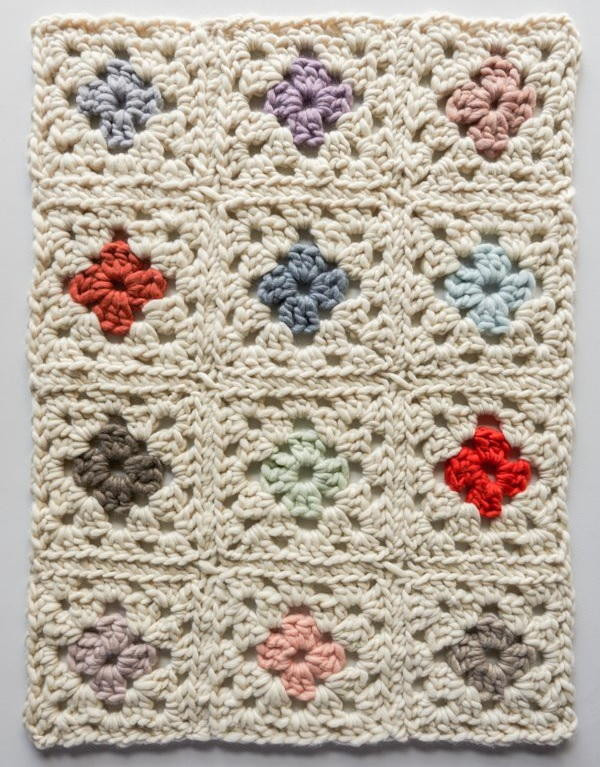 New Vintage Floral Granny Square Afghan Granny Square Afghan Pattern Of Beautiful 49 Photos Granny Square Afghan Pattern