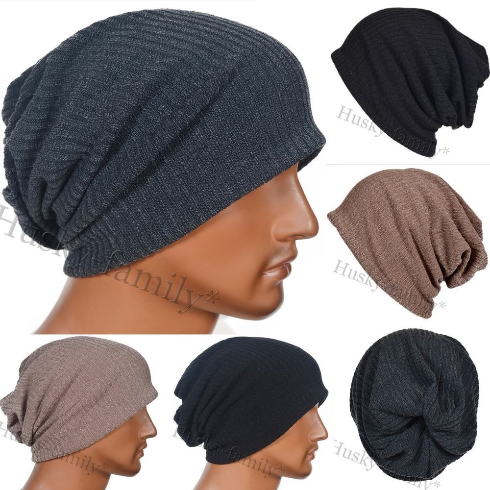 New Vintage Men Jersey Knitting Beanie Floppy Baggy Skull Cap Mens Slouchy Beanie Hats Of Amazing 47 Models Mens Slouchy Beanie Hats