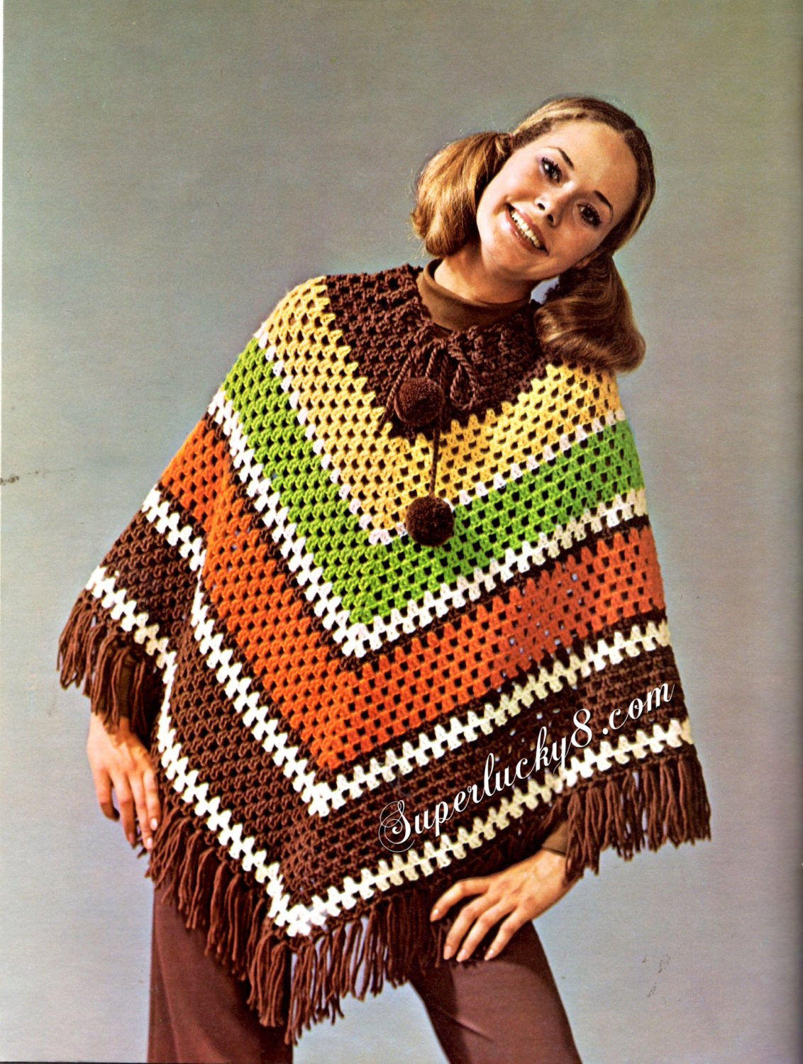 New Vintage Poncho Pdf Crochet Pattern Digital Crochet Vintage Crochet Patterns Of Attractive 43 Pictures Vintage Crochet Patterns