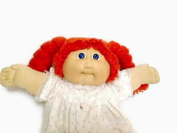 Vintage Red Headed Cabbage Patch Doll by HillysVintageNook