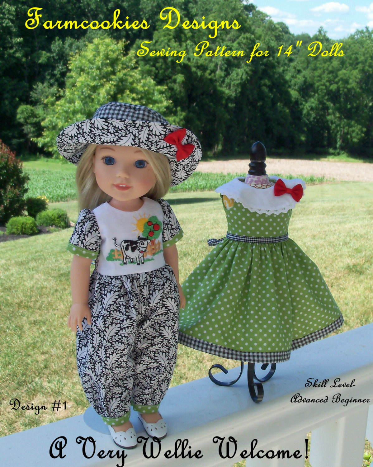 WELLIE WISHER PDF Sewing Pattern A Very Wellie Wel e
