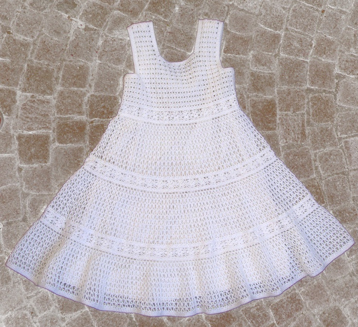New White Lace Crochet Dress for toddler Girls Instant Crochet Girl Dress Of Awesome 46 Images Crochet Girl Dress
