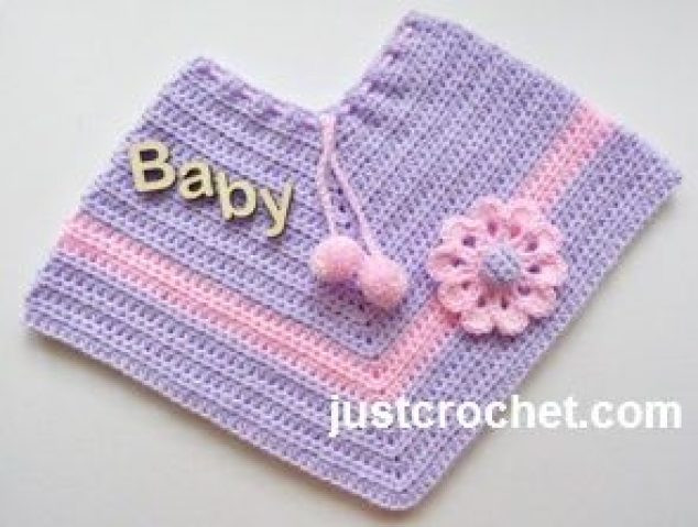 New wholesale Scarf Shawls Poncho Baby Poncho Crochet Pattern Free Of Top 50 Pictures Baby Poncho Crochet Pattern Free