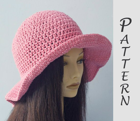 New Wide Brim Sun Hat Crochet Pattern Hat Pattern Easy Crochet Summer Hat Pattern Of Incredible 46 Photos Crochet Summer Hat Pattern