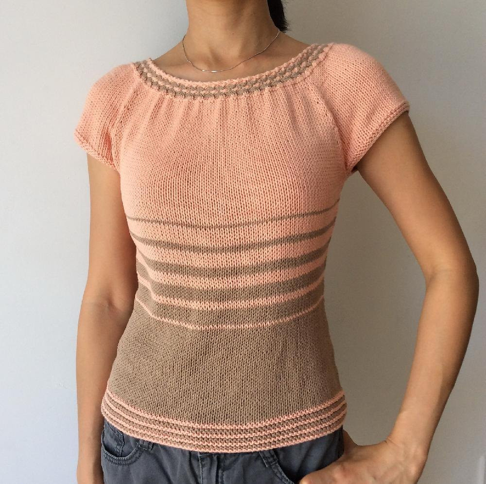 New Women S Wovencable Summer top Knitting Pattern by Adeline Summer Knitting Patterns Of Perfect 47 Pictures Summer Knitting Patterns