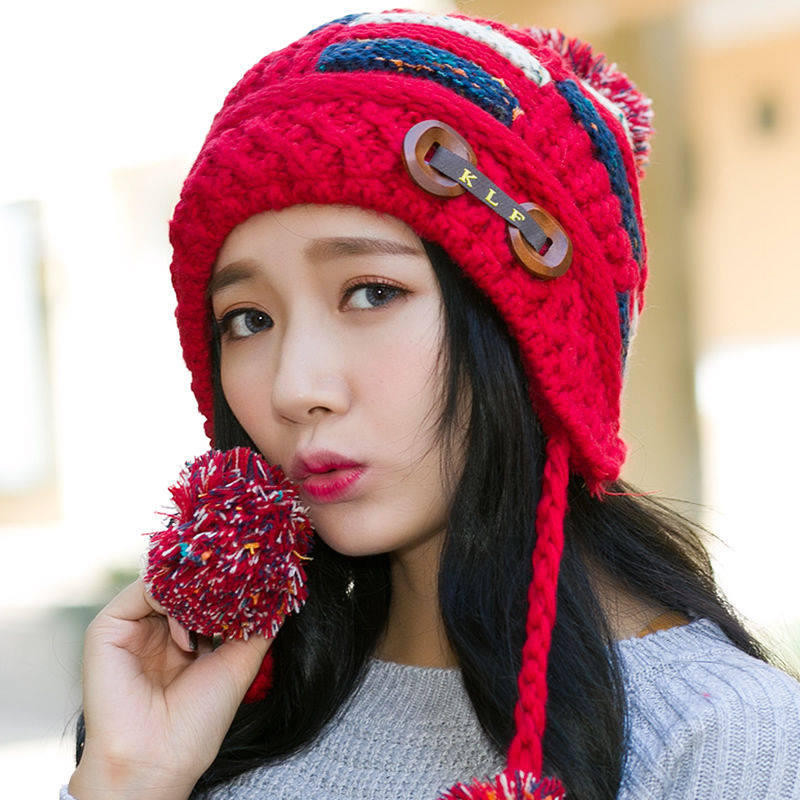 New Womens Winter Warm Braided Crochet Wool Knit Hat Girl Womens Crochet Beanie Of Perfect 44 Photos Womens Crochet Beanie