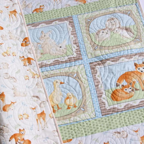 New Woodland Quilt Kits Baby Bedding Blanket Pastel toddler Baby Blanket Kits Of Delightful 48 Pictures Baby Blanket Kits