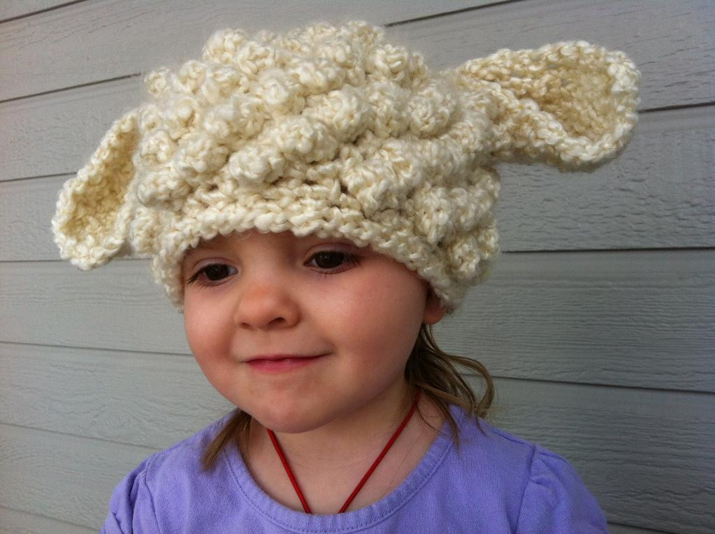 New You Have to See Crochet Lamb Hat On Craftsy Lamb Hat Of Awesome 46 Images Lamb Hat