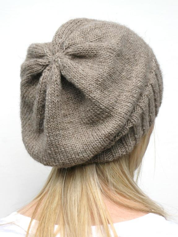 You have to see DK Eco Slouchy Hat Knitting Pattern by