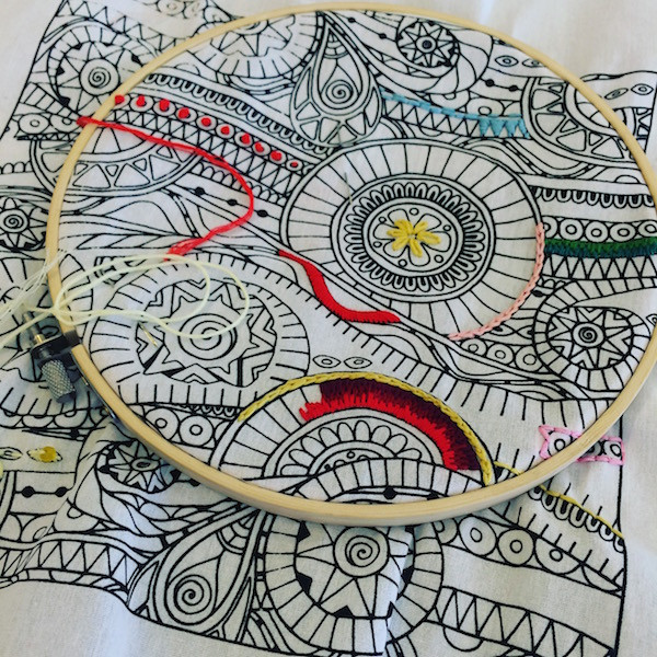 New Zenbroidery Hand Embroidery Kits – Bunyip Craft Hand Embroidery Kits Of Delightful 45 Photos Hand Embroidery Kits