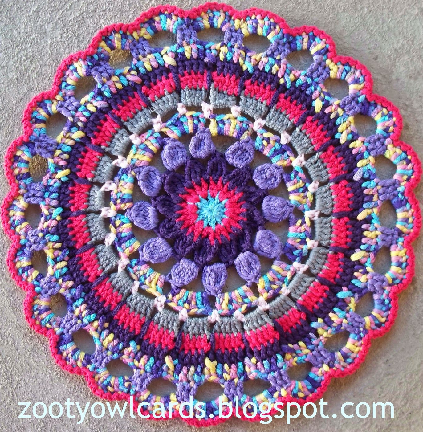 New Zooty Owl S Crafty Blog Dahlia Mandala Pattern Mandala Crochet Patterns Of Beautiful 48 Pictures Mandala Crochet Patterns