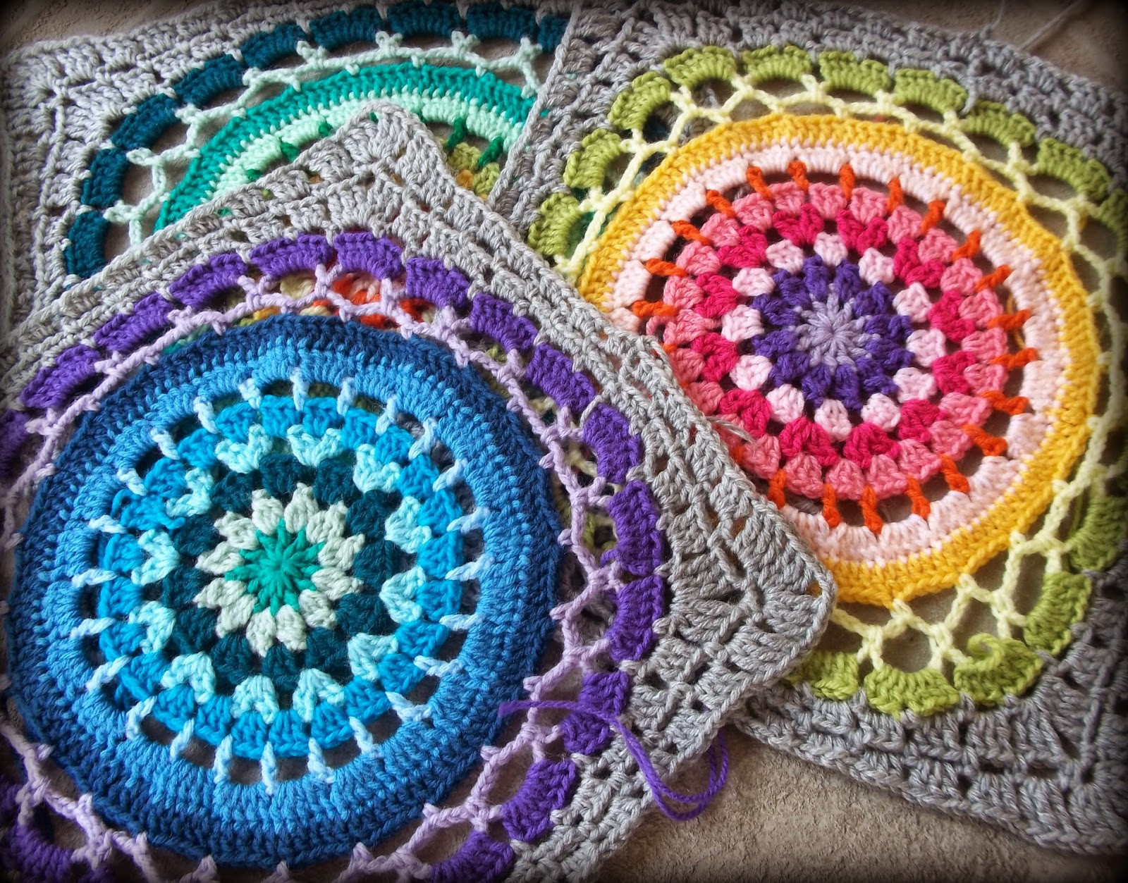 New Zooty Owl S Crafty Blog Daisy Centre Mandala Square Mandala Crochet Patterns Of Beautiful 48 Pictures Mandala Crochet Patterns