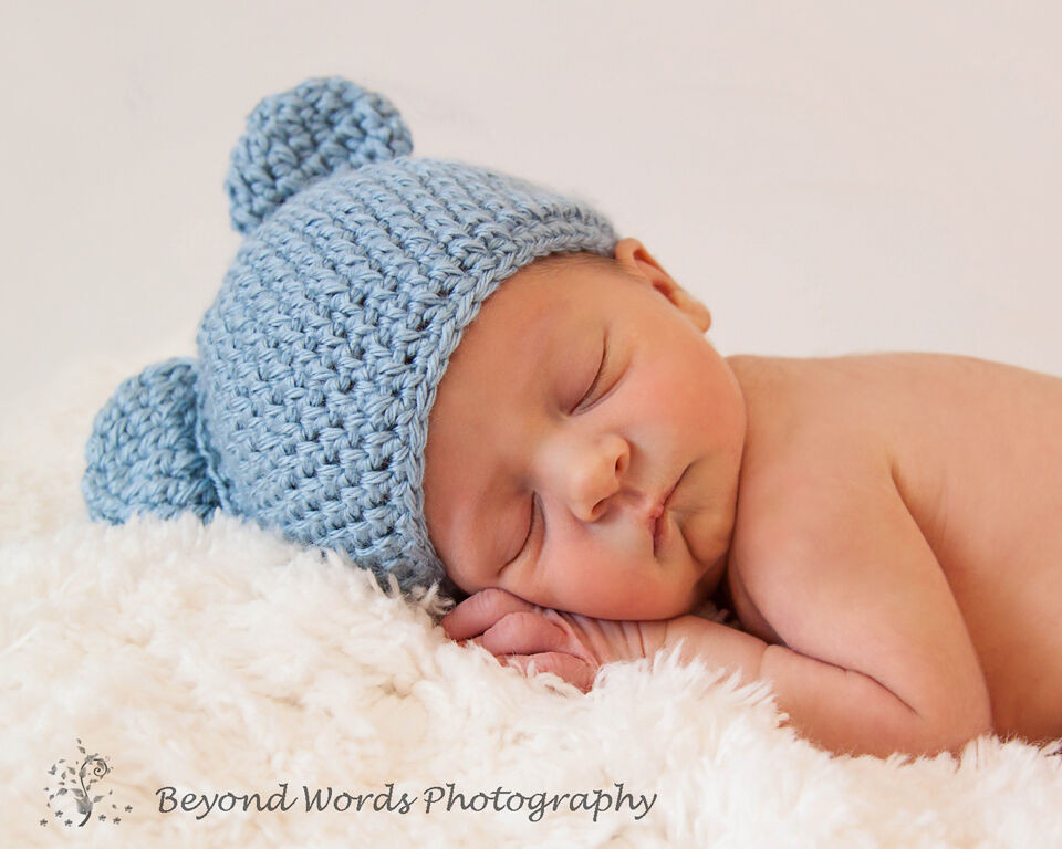 Newborn Baby Boy Hats Awesome Crochet Newborn Boys & Girls Teddy Bear Beanie Hat Photo Of Perfect 44 Ideas Newborn Baby Boy Hats