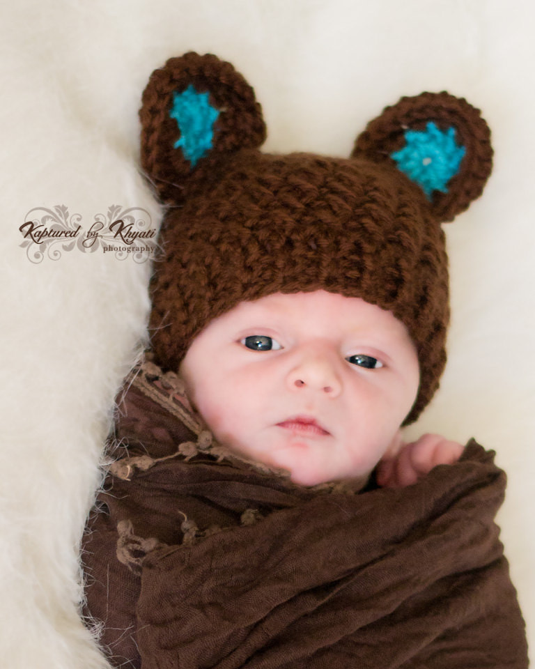 baby hat with ears baby boy hat newborn
