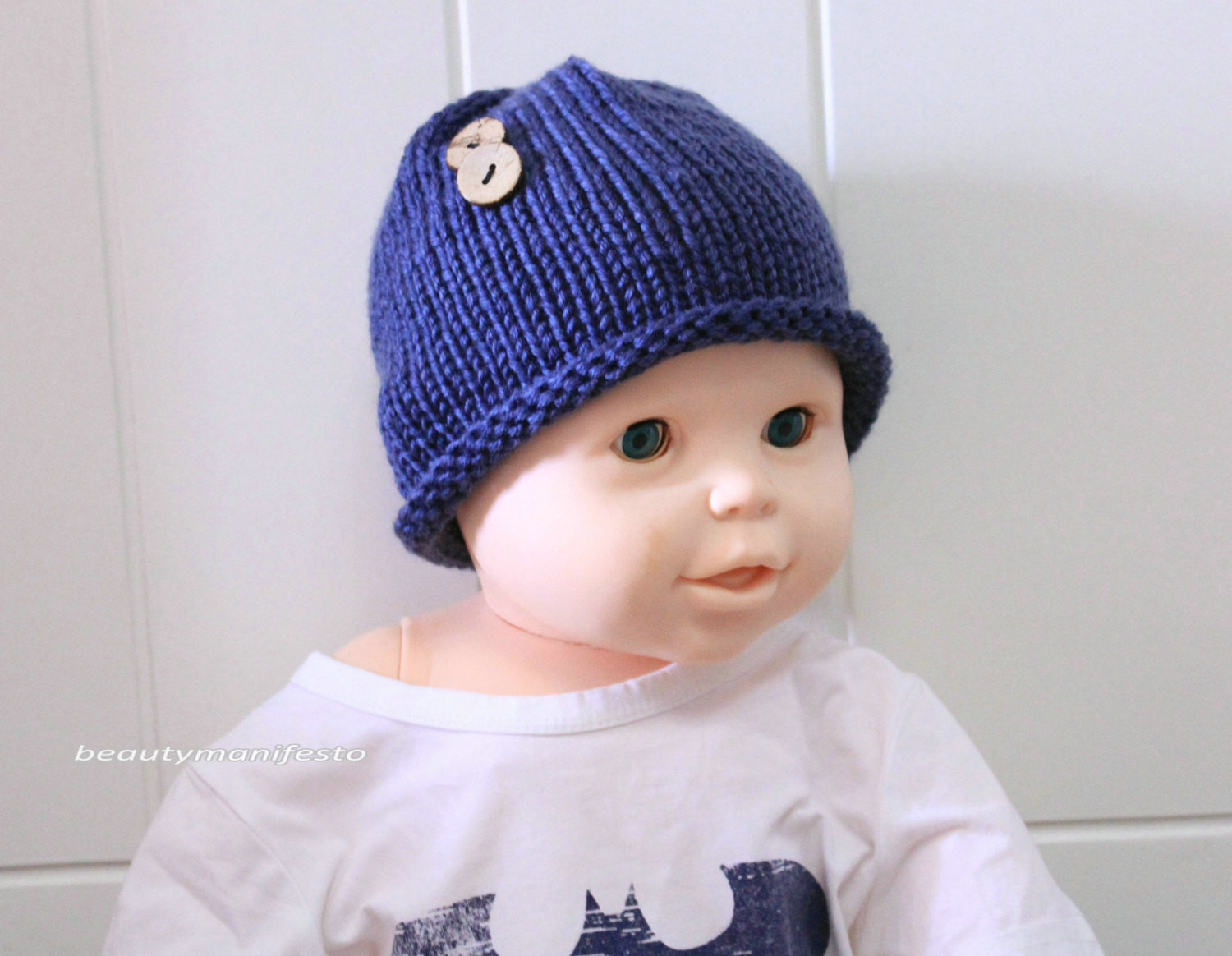 Newborn Hat Newborn Prop Knit Baby Hat Newborn Boy