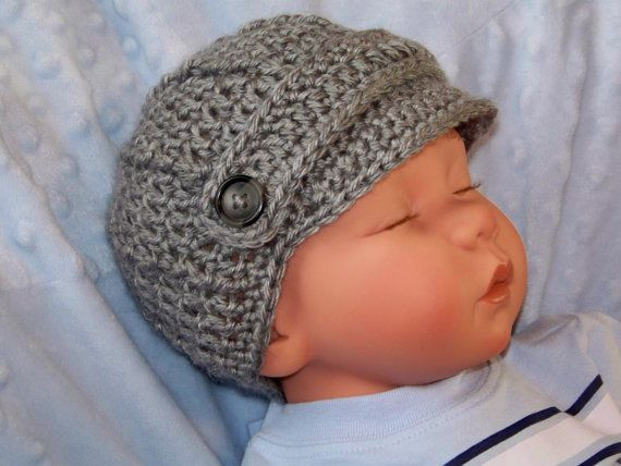 Newborn Baby Boy Hats Inspirational Baby Boy Newsboy Hat Baby Boy Visor Hat Newborn Crochet Of Perfect 44 Ideas Newborn Baby Boy Hats