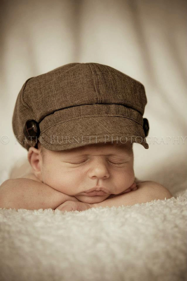 Newborn Baby Boy Hats Inspirational Newborn Newsboy Hat Baby Boy toddler Infant Cap Brown Fabric Of Perfect 44 Ideas Newborn Baby Boy Hats