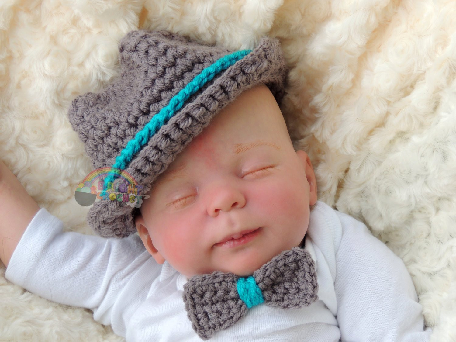 Newborn Baby Boy Hats Lovely Newborn Crochet Fedora Baby Boy or Girl Bowler Hat Of Perfect 44 Ideas Newborn Baby Boy Hats