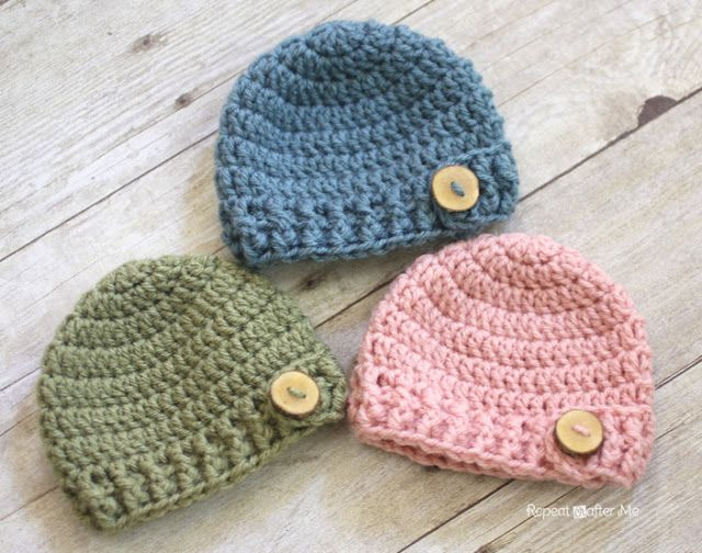 Newborn Baby Hat Crochet Pattern Beautiful Best 25 Crochet Baby Hats Ideas On Pinterest Of Superb 44 Pictures Newborn Baby Hat Crochet Pattern