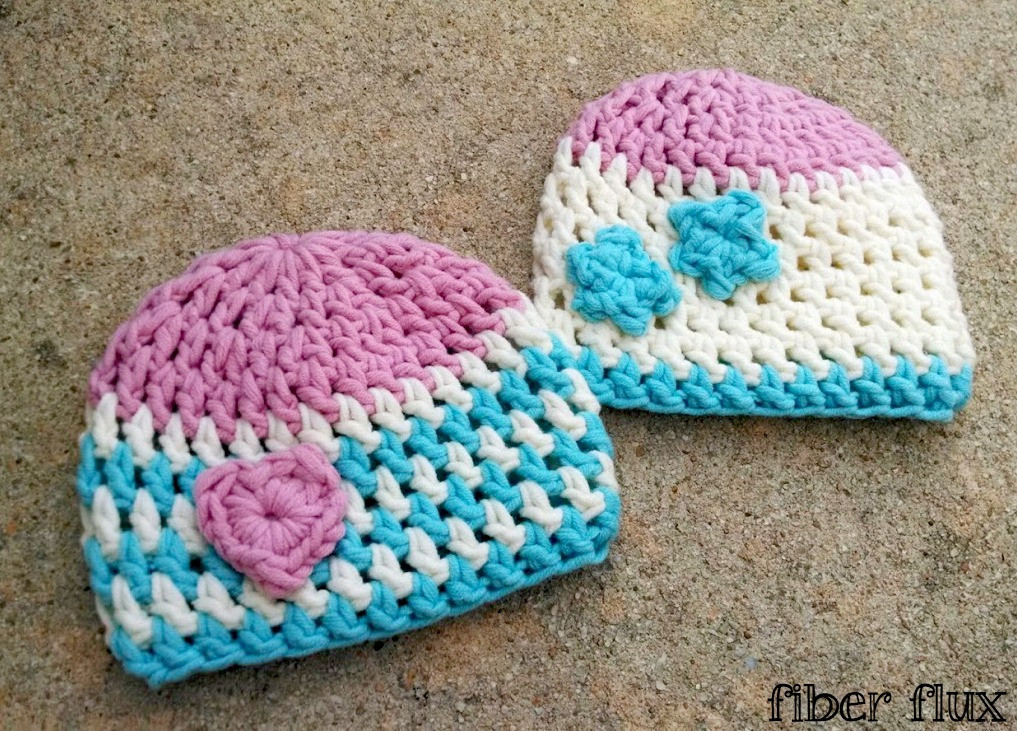 Newborn Baby Hat Crochet Pattern Elegant Fiber Flux Free Crochet Pattern Squishy Newborn Hats Of Superb 44 Pictures Newborn Baby Hat Crochet Pattern