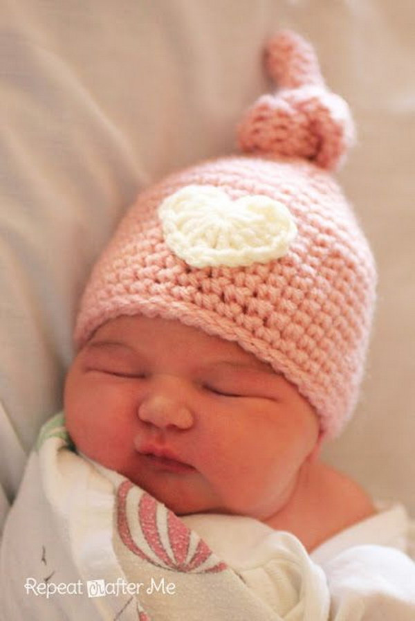 Newborn Baby Hat Crochet Pattern Inspirational Cool Crochet Patterns & Ideas for Babies Hative Of Superb 44 Pictures Newborn Baby Hat Crochet Pattern