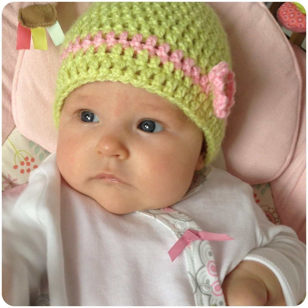 Newborn Baby Hats Awesome Stitch N Ting Super Easy Double Crochet Baby Hat Of Beautiful 48 Pictures Newborn Baby Hats