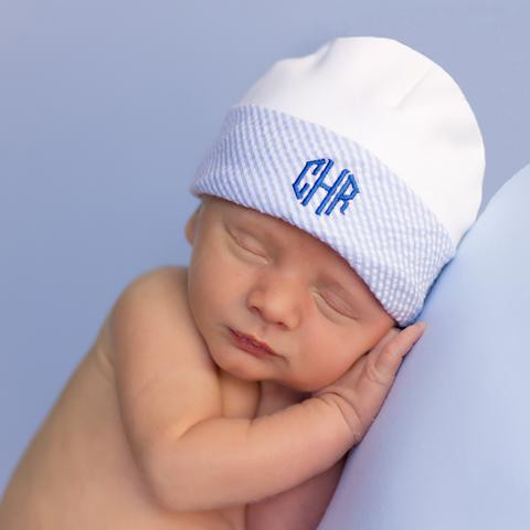 Newborn Baby Hats Best Of organic Marvelous Monogrammed Newborn Boy Hospital Baby Hat Of Beautiful 48 Pictures Newborn Baby Hats