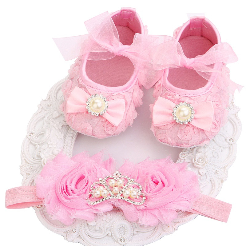 Newborn Baby Sandals Awesome 2016 New Girl Infant Tiara Baby Shoes White First Walkers Of Delightful 40 Pics Newborn Baby Sandals