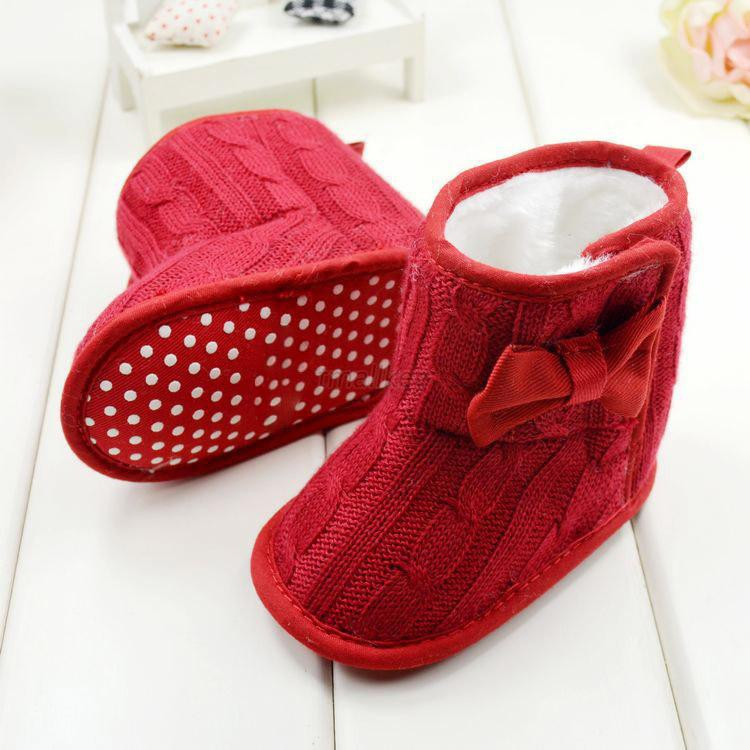 Newborn Baby Sandals Elegant Newborn Infant Baby Girl Knited Boots toddler Bowknot Cozy Of Newborn Baby Sandals Luxury Premie and Newborn Baby Ballet Slippers Metallic Pink