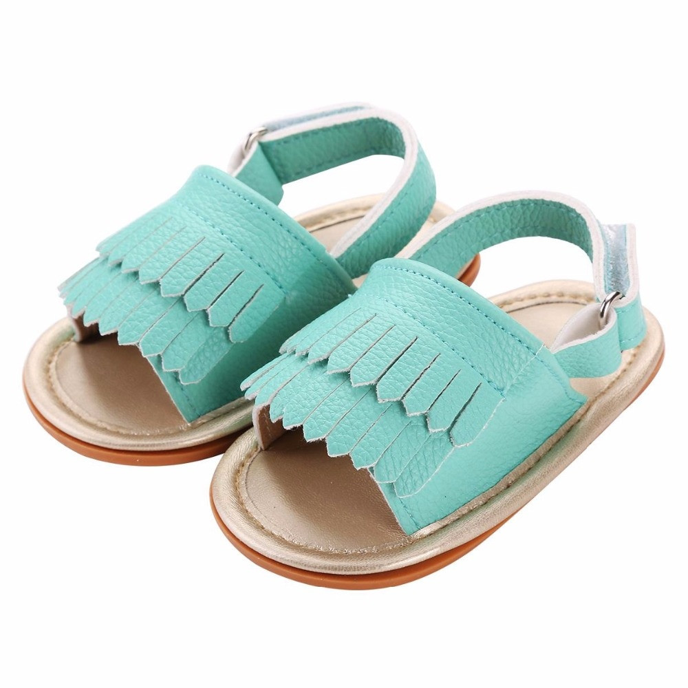 Newborn Baby Sandals Lovely Aliexpress Buy 2016 Fashion Fringed soft sole Of Delightful 40 Pics Newborn Baby Sandals