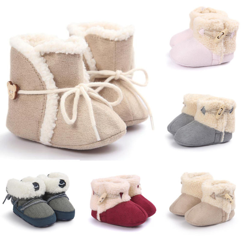Newborn Baby Sandals Lovely soft Baby Girl Boy sole Booties Snow Boots Infant toddler Of Newborn Baby Sandals Luxury Premie and Newborn Baby Ballet Slippers Metallic Pink