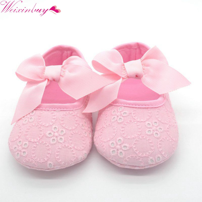 Newborn Baby Sandals Luxury Aliexpress Buy Baby Girl Lace Shoes toddler Of Newborn Baby Sandals Luxury Premie and Newborn Baby Ballet Slippers Metallic Pink